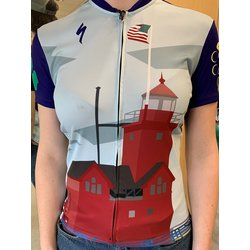 Cross Country Cycle Big Red Lighthouse RBX Jersey Women's