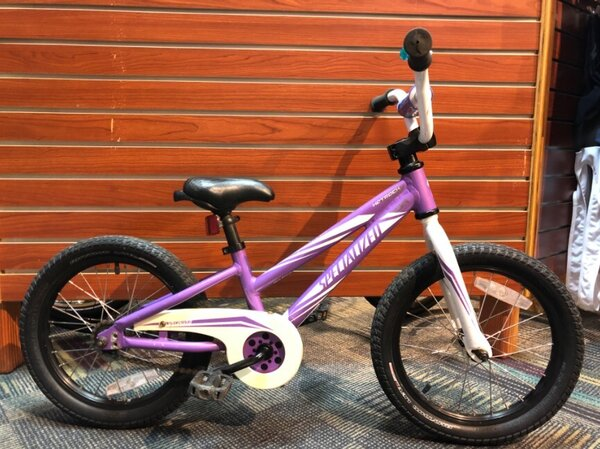 """Specialized USED Specialized Hotrock 16"""" Youth Purple"""