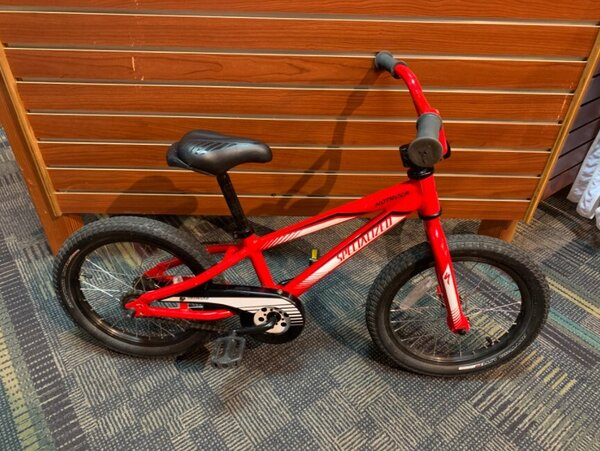 "Specialized USED Specialized Hotrock 16"" Youth Red"