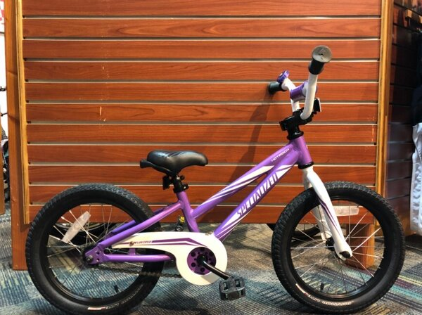 "Specialized USED Specialized Hotrock 16"" Youth Purple"