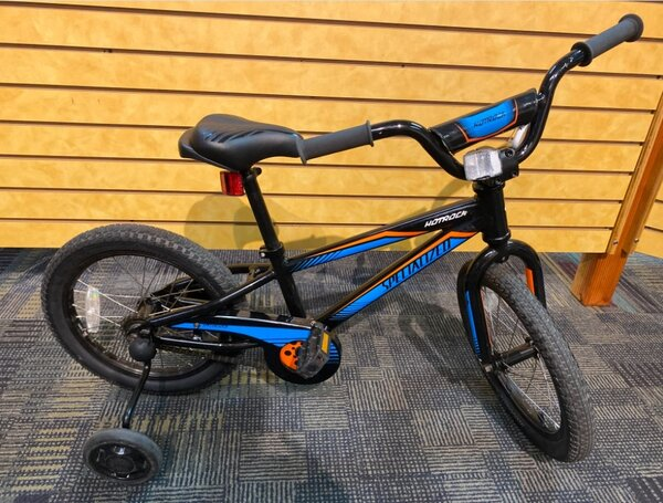 Specialized USED Specialized Hotrock 16-inch Youth Black/Blue
