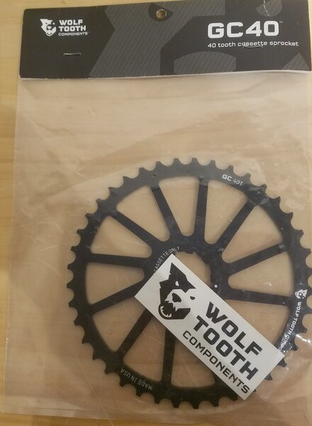 Wolf Tooth Components DEAL Wolf Tooth GC Cog Black Shimano 40T