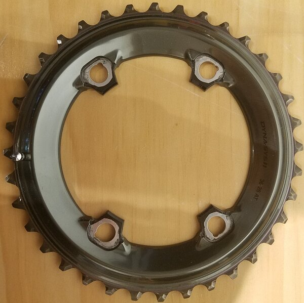 Shimano DEAL Shimano XTR M9000/M9020 11-Speed Outer Chainring 96mm BCD 36T
