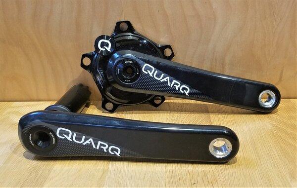 Quarq DEAL DZero Carbon Power Meter Crankset