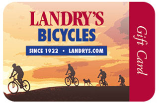 Landry's Bicycles Gift Card