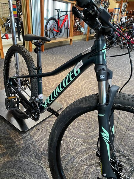 Specialized DEAL BLEM 21 Specialized Rockhopper Sport 27.5 Satin Forest Green / Oasis X-Small