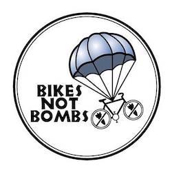 bike not bombs logo