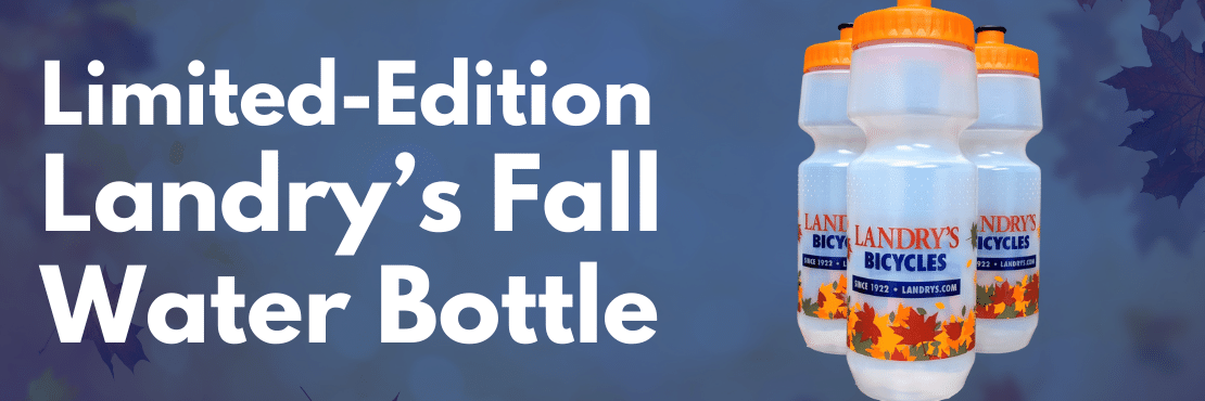 limited edition fall water bottle