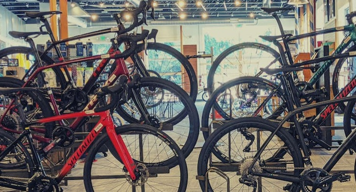 Bikes available at Landry's