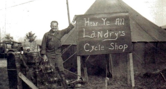 Landry's in France during WWII