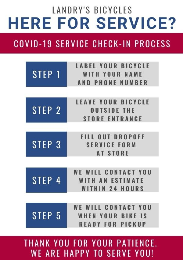 COVID-19 Bike-Service Procedure