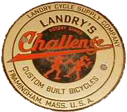 Landry's Vintage Head Badge