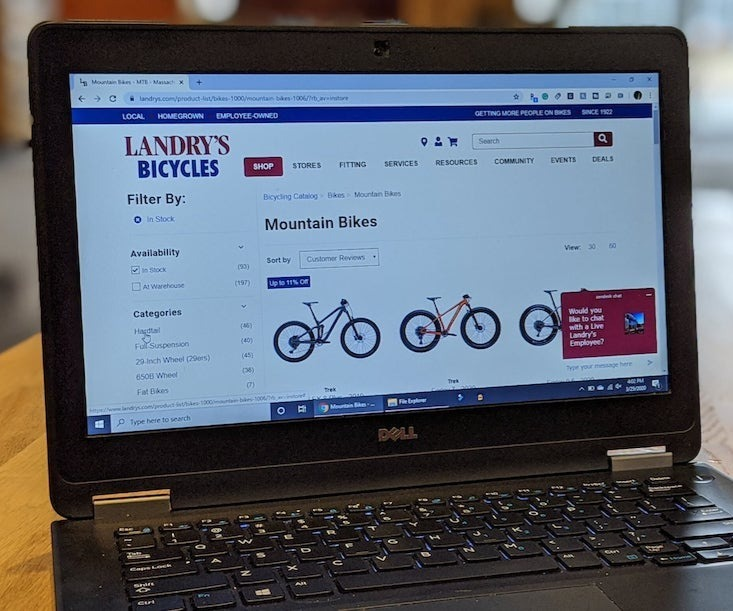 Order online from Landry's website