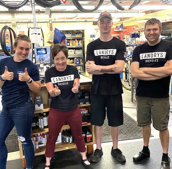 Landry's Norwood store team