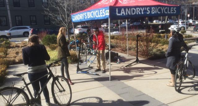 Workplace Bike Repair Clinics