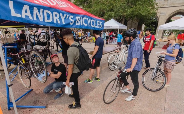 Landry's can help your workplace become a bicycle-friendly business