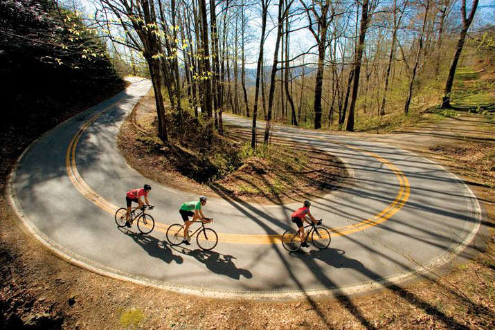Group Ride on Road Bikes