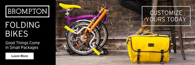 Test ride a Brompton Folding Bike