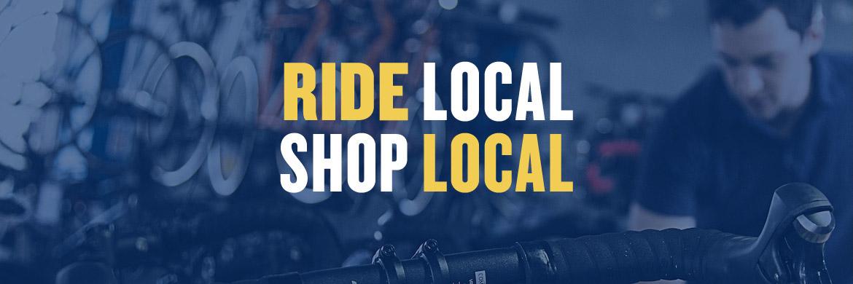 Ride Local, Shop Local