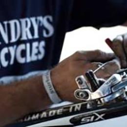 bike repair at Landry's bicycles