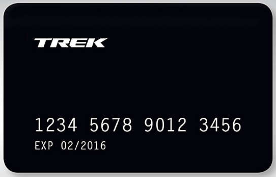 Finance your new bicycle, clothing and accessories with the Trek Card!