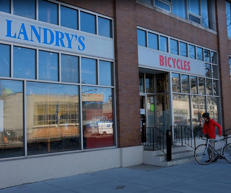 Landry's Boston bike shop