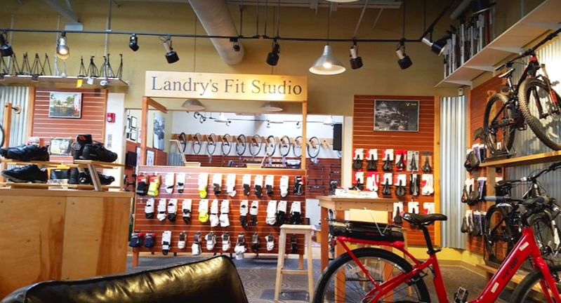 Landry's bike fitting studio
