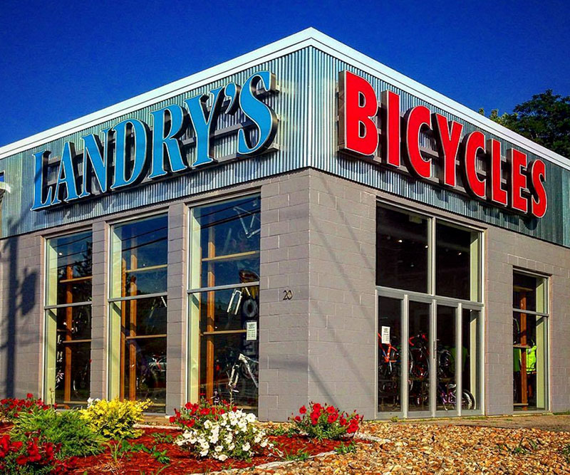 Landry's bike shop location and hours