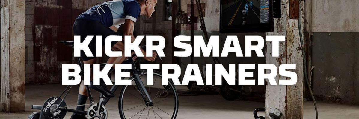 Kickr smart bike trainers