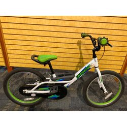 Trek USED Trek Jet 20-inch Youth White/Green