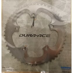 Shimano DEAL Shimano Dura-Ace FC-7800 10 Speed B-Type Chainring 130 BCD Silver 52T