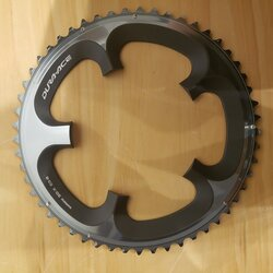 Shimano DEAL Shimano Dura Ace 7900 10-Speed Double B Chainring 130 BCD Silver 53T