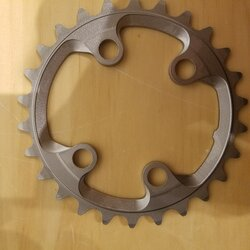 Shimano DEAL Shimano XTR M9020/M9000 11-Speed Inner Chainring 26T 64mm BCD
