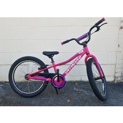 Specialized USED Specialized Riprock 20-inch Wheel Coaster Rainbow Flake Pink / White