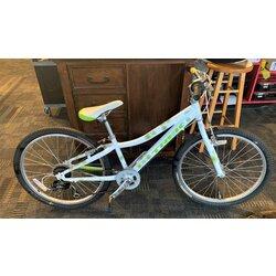 Trek USED Trek MT200 24-inch 7-speed White/Green