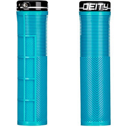 Deity Components Deity Components Knuckleduster Grips - Black, Lock-On