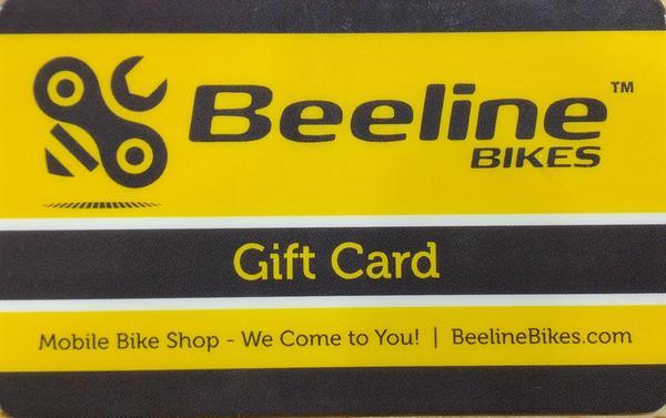 Beeline Bikes Gift Card