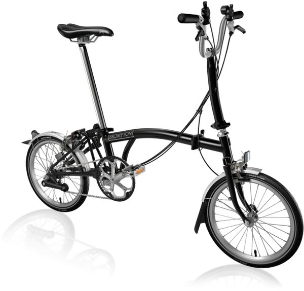Brompton Brompton Bike Builder - M6l Color: Black