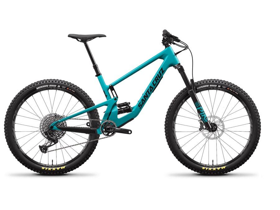2021 Santa Cruz 5010 CC Blue X01