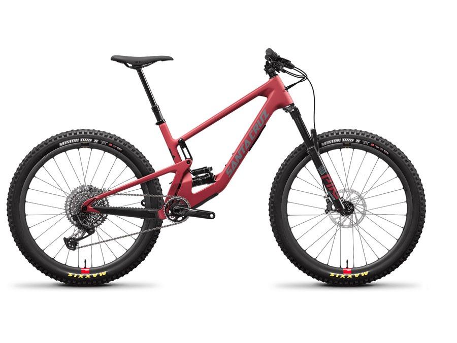 2021 Santa Cruz 5010 CC Raspberry X01 RSV