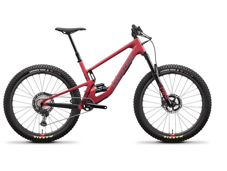 2021 Santa Cruz 5010 Raspberry XT RSV