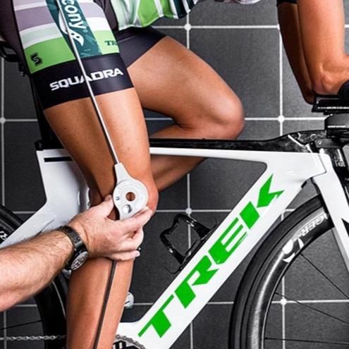 professional bike fit measurement
