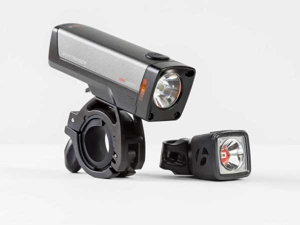 Bontrager Ione Elite Flare R lights