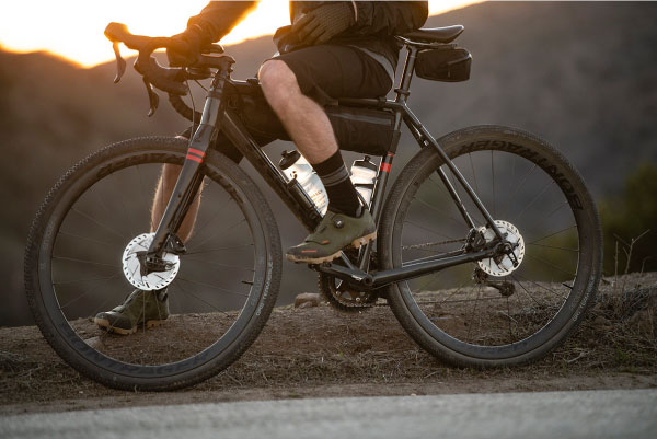 Trek Checkpoint gravel bike with bags