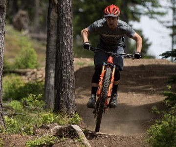 mountain bikes at summit bicycles