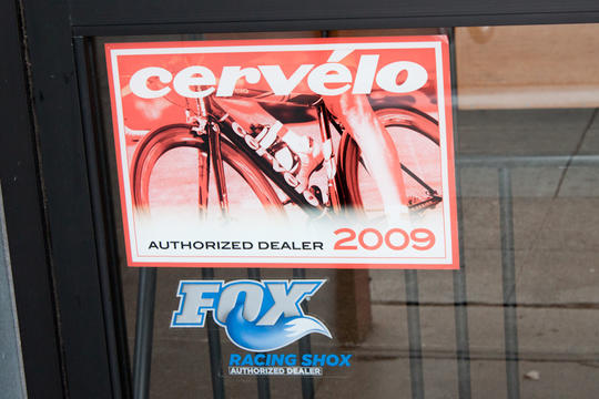 Cervelo and Fox Racing posters