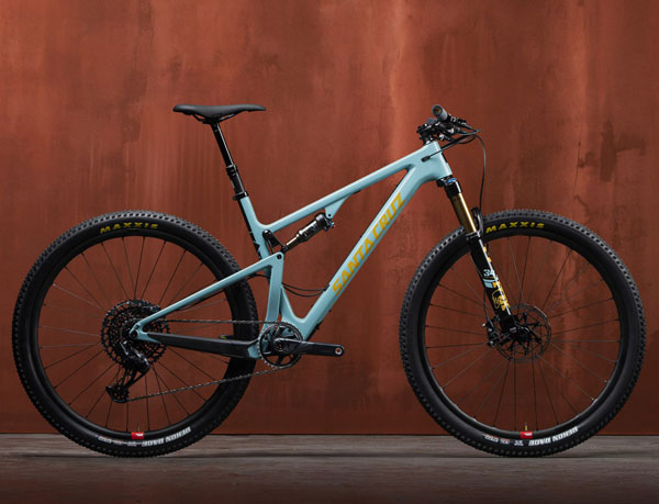 2021 Santa Cruz Blur full suspension xc bike