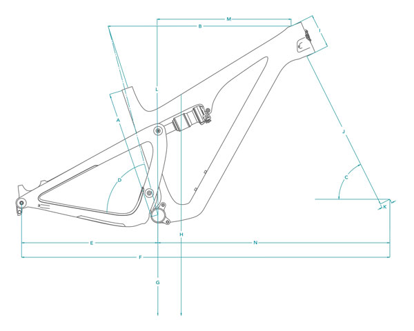 geometry graphic for sb115 frame