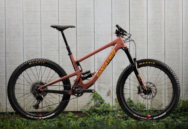 2021 Santa Cruz Bronson Full Suspension Bike