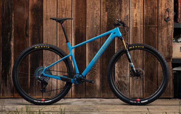 Santa Cruz 2020 Highball Hardtail XC mountain bike in blue